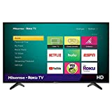 Hisense 43-Inch Class H4 Series LED Roku Smart TV with Alexa Compatibility...