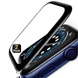 [2 Pack] Apple Watch Series 6/5/4/SE Screen Protector 44mm With Alignment...