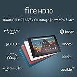 Fire HD 10 Tablet (10.1' 1080p full HD display, 32 GB) – Black (2019...