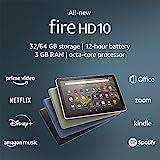 All-new Fire HD 10 tablet, 10.1', 1080p Full HD, 32 GB, latest model (2021...