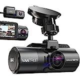 Vantrue N4 3 Channel 4K Dash Cam, 4K+1080P Front and Rear, 4K+1080P Front...