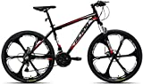 Hiland 26 Inch Mountain Bike Aluminum 21 Speeds 3/6-Spokes for Men Women...