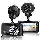 ORSKEY Dash Cam 1080P Full HD Car DVR Dashboard Camera Video Recorder in...