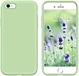 GUAGUA iPhone 6s Case iPhone 6 Case Liquid Silicone Soft Gel Rubber Slim...