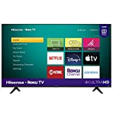 Hisense 50-Inch Class R6090G Roku 4K UHD Smart TV with Alexa Compatibility...