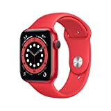 New AppleWatch Series 6 (GPS, 44mm) - (Product) RED - Aluminum Case with...