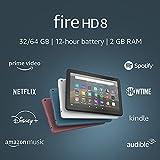 Fire HD 8 tablet, 8' HD display, 32 GB, latest model (2020 release),...