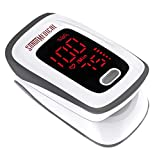 Fingertip Pulse Oximeter, Blood Oxygen Saturation Monitor (SpO2) with Pulse...