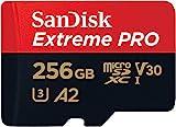 SanDisk Extreme Pro Micro SDXC UHS-I U3 A2 V30 Memory Card (256GB)