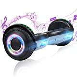 YHR Hoverboard with Wireless Bluetooth Speaker Electric Self Balancing...