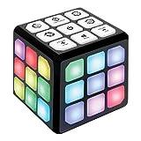 Flashing Cube Electronic Memory & Brain Game | 4-in-1 Handheld Game for...