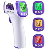 MAMI&BABI Non-Contact Infrared Forehead Thermometer, ˚C / ˚F Adjustable...