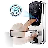 Fingerprint Door Lock with Left-Handle , Ardwolf A60 Keyless Entry...