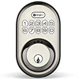 Keyless Entry Deadbolt Lock, Orangeiot Electronic Keypad Door Lock, Auto...