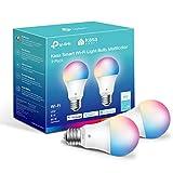 Kasa Smart Light Bulbs, Full Color Changing Dimmable Smart WiFi Bulbs...