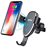 CHOETECH Wireless Car Charger, Gravity Air Vent Phone Holder Fast Wireless...