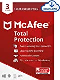 McAfee Total Protection 2021, 3 Device Antivirus Internet Security...