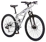 Mongoose Impasse Mens Mountain Bike, 29-Inch Wheels, Aluminum Frame, Twist...