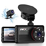IIWEY 2K&1080P Dual Dash Camera for Cars with 6 IR Lights Night Vision...