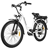 ANCHEER 26' Aluminum Electric Bike, Adults Electric Commuting Bicycle with...