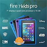 Fire 7 Kids Pro tablet, 7' display, Ages 6+, 16 GB, Doodle
