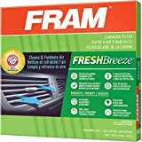 FRAM Fresh Breeze Cabin Air Filter with Arm & Hammer Baking Soda, CF11176...