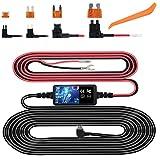 Dash Cam Hardwire Kit, Mini USB Hard Wire Kit Fuse for Dashcam, Plozoe...