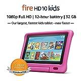 """Fire HD 10 Kids Tablet – 10.1"""" 1080p full HD display, 32 GB, Pink..."""
