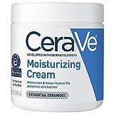 CeraVe Moisturizing Cream | Body and Face Moisturizer for Dry Skin | Body...