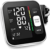Blood Pressure Monitor Upper Arm Automatic Digital BP Meter 2x120 Reading...
