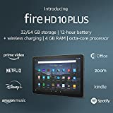 Introducing Fire HD 10 Plus tablet, 10.1', 1080p Full HD, 32 GB, latest...