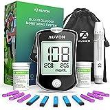 AUVON DS-W Blood Sugar Test Kit (100 Test Strips, 100 30G Lancets),...