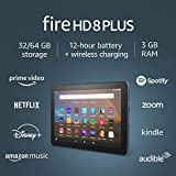Fire HD 8 Plus tablet, HD display, 32 GB, latest model (2020 release), our...