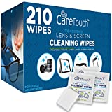Care Touch Lens Cleaning Wipes - 210 Pre-Moistened and Individually Wrapped...