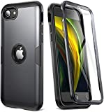 YOUMAKER Upgraded Design for iPhone SE 2020 Case, Full Body Rugged with...
