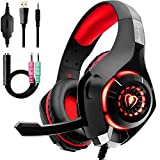 Beexcellent Gaming Headset with Noise Canceling mic, PS4 Xbox One Headset...