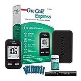 On Call Express Diabetes Testing Kit- Blood Glucose Meter, 10 Blood Test...