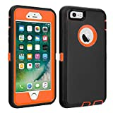 CAFEWICH iPhone 6/6S Case Heavy Duty Shockproof High Impact Tough Rugged...