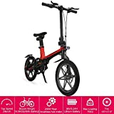 16' New Foldable Electric Mountain Bike 200W with Removable 36V 5.2AH...