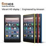 Fire HD 8 Tablet (8' HD Display, 32 GB) - Black (Previous Generation - 8th)