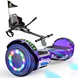 EverCross Hoverboard, Self Balancing Scooter Hoverboard with Seat...