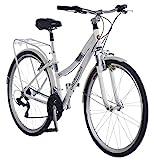 Schwinn Discover Hybrid Bike for Men and Women, 21-Speed, 28-inch Wheels,...