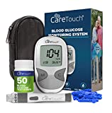 Care Touch Diabetes Testing Kit - Blood Glucose Monitor, 50 Blood Glucose...