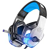 BENGOO V-4 Gaming Headset for Xbox One, PS4, PC, Controller, Noise...