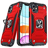 JAME Designed for iPhone 11 Case with Screen Protector 2PCS, Military-Grade...