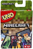Mattel Games UNO Minecraft Card Game, Now UNO fun includes the world of...