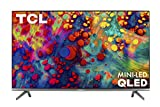 TCL 65-inch 6-Series 4K UHD Dolby Vision HDR QLED Roku Smart TV - 65R635,...