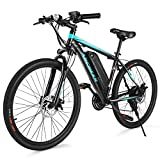 ANCHEER Electric Bike Commuter EBike 350W 26'' Electric Mountain Bicycle,...
