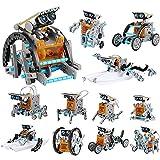 Lucky Doug 12-in-1 STEM Solar Robot Kit Toys Gifts for Kids 8 9 10 11 12 13...