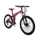 SD G4 26 Inch Adult Folding Bike Regular Spoke Wheel Mechanical Disc Brake...